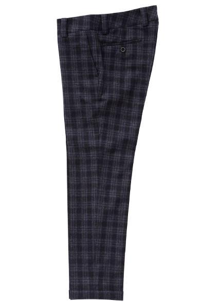 INCOTEX Pants Shadow Check 3万3480円