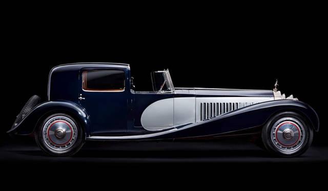 """ブガッティの""""レジェンド""""シリーズ、最後となる第6弾「エットーレ・ブガッティ」のモチーフとなった1932年製の「T41 ロワイヤル」"""