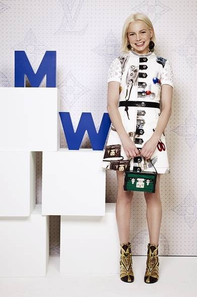 Michelle Williams|ミシェル・ウィリアムズ ©David Atlan/Louis Vuitton