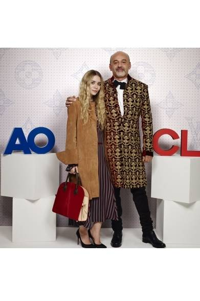 Ashley Olsen & Christian Louboutin|アシュリー・オルセン&クリスチャン・ルブタン ©david atlan/Louis Vuitton