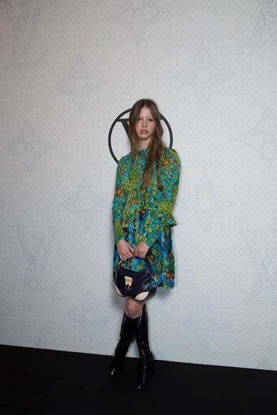 Mia Goth|ミア・ゴス ©David Atlan/Louis Vuitton