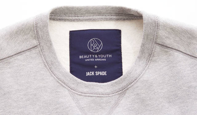 「JACK SPADE for BEAUTY&YOUTH」スウェット1万6200円