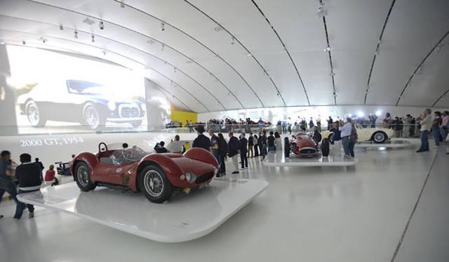 エンツォ・フェラーリ・ミュージアムでも開催された100周年記念イベント