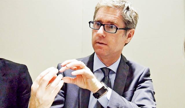 ヴァン クリーフ&アーペル インターナショナル マーケティング&コミュニケーションズ ディレクターのジャン・ビヤンネメ氏。