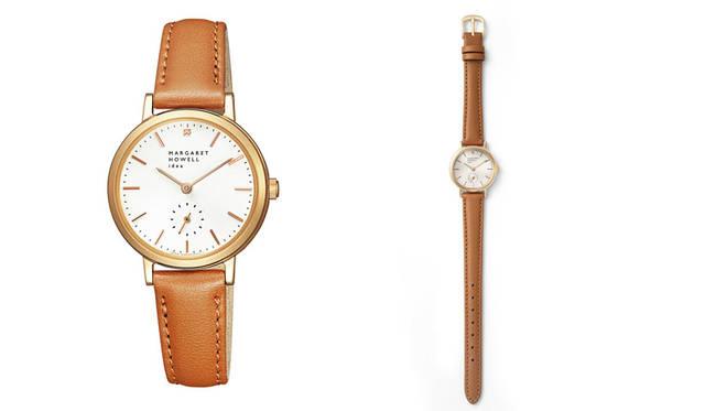 <strong>MARGARET HOWELL idea watch|マーガレット・ハウエル アイデア ウォッチ</strong><br />20周年記念モデル「マーガレット・ハウエル アイデア ウォッチ スモールセコンド 腕時計(BZ1-722-10)」3万7800円