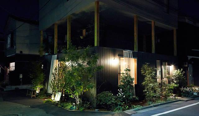 「たぐい食堂」が入居する建物の外観。店主の奥さんが働いている建築事務所の設計で、2015年のグッドデザイン賞を受賞している