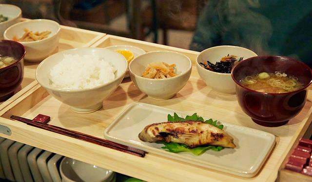 オススメの定食、銀だら西京焼定食