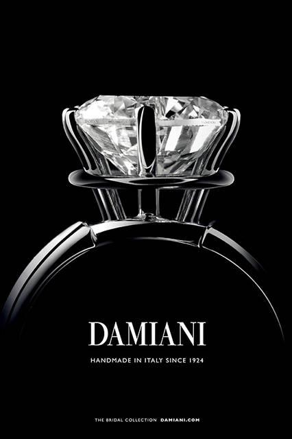 2月1日(月)よりダミアーニがダミアーニ 直営ブティック、コーナーにてブライダルフェアを開催