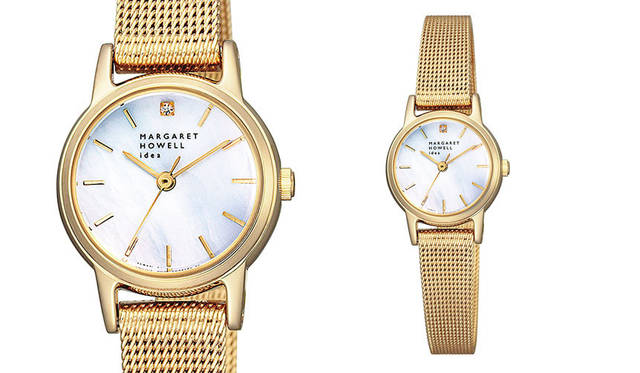 <strong>MARGARET HOWELL idea watch|マーガレット・ハウエル アイデア ウォッチ</strong><br />「マーガレット・ハウエル アイデア ウォッチ ソーラー 腕時計 レディース(KF3-524-15)」4万3200円