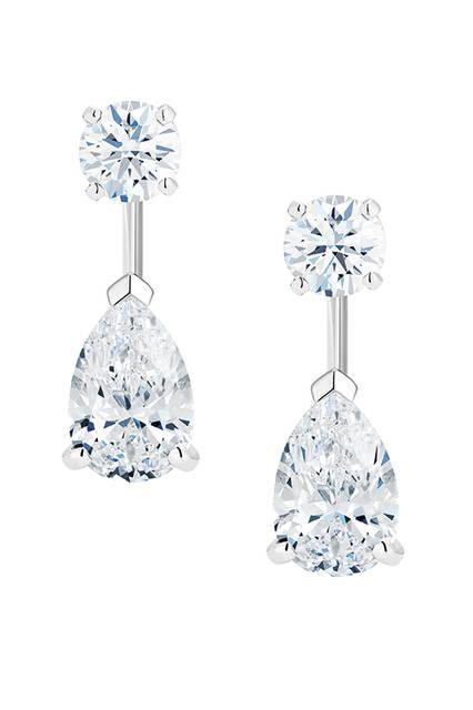 素材|ホワイトダイヤモンド×ホワイトダイヤモンド<br>