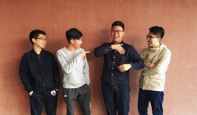 Ding Dong & Ma Jincai & Peter Luo & Huang Junxi ディン・ドン(中国)、マ・ティンタイ(中国)、 ピーター・ルオ(中国)、ホアン・ジュンシ(中国)