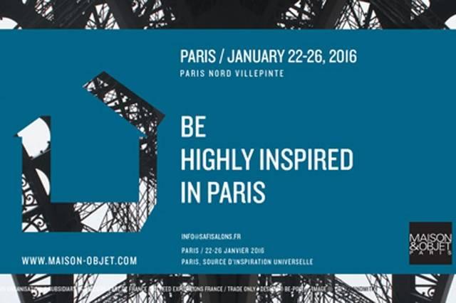 メゾン&オブジェ パリ2016のイメージビジュアル。