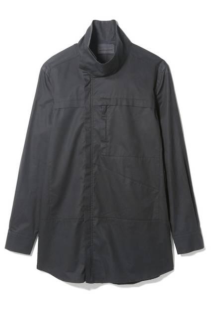 <strong>DIESEL BLACK GOLD青山限定</strong><br/>MEN'S ロングシャツ(ブラック)<br/> 価格 4万1000円