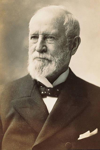 ティファニーの創業者、チャールズ・ルイス・ティファニー(1812〜1902年)