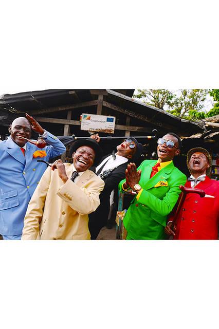SAPEUR(コンゴ共和国の世界一お洒落な男たち・ムイエンゴ・ダニエル含む計5名)