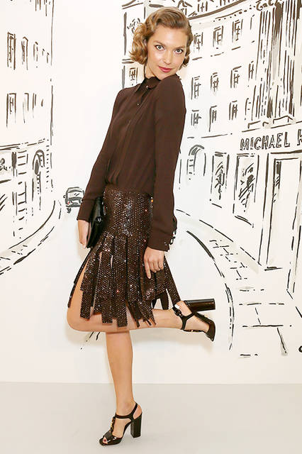 Arizona Muse(アリゾナ・ミューズ)© Getty Images for Michael Kors