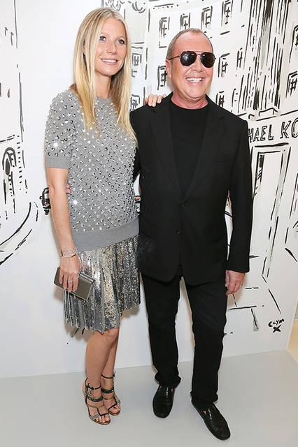 Gwyneth Paltrow(グウィネス・パルトロー)&デザイナーMichael Kors(マイケル・コース)<br>© Getty Images for Michael Kors