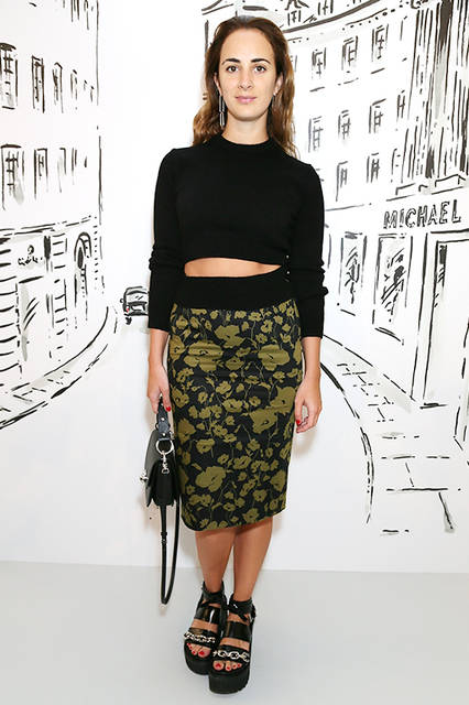 Alexia Niedzielski(アレクシア・ニジンスキー)  © Getty Images for Michael Kors