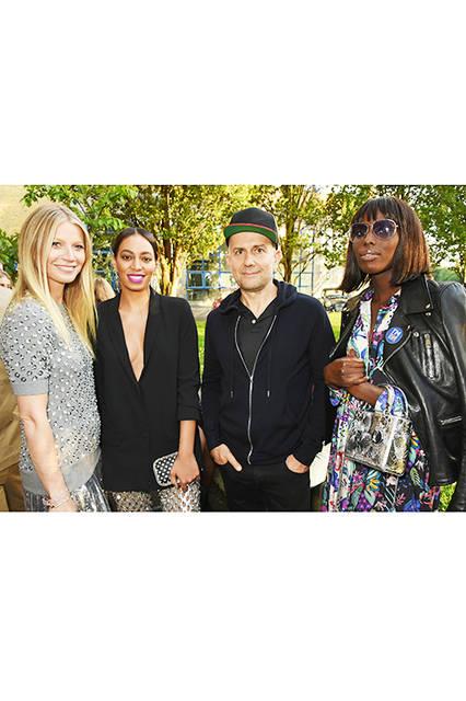 Gwyneth Paltrow(グウィネス・パルトロー)&Solange Knowles(ソランジュ・ノウルズ)