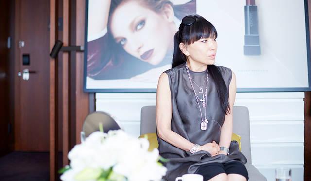 発表会のためにニューヨークから一時帰国したクリエイティブディレクターのAYAKOさん