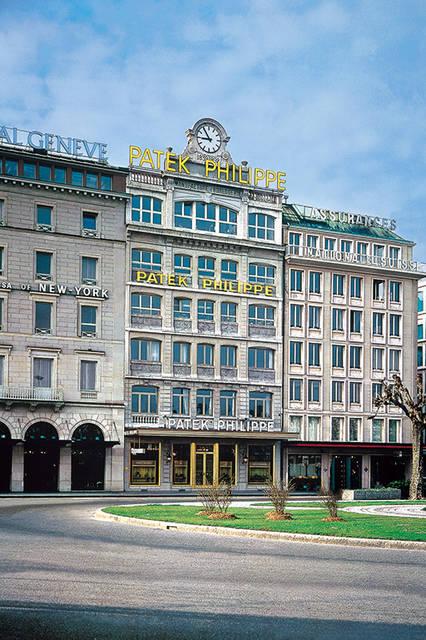 2006年にフルリノベーションを終えたパテック フィリップ直営のジュネーブ本店。外観にはあえて手を加えず、内装のみをモダンにアップデートしている。