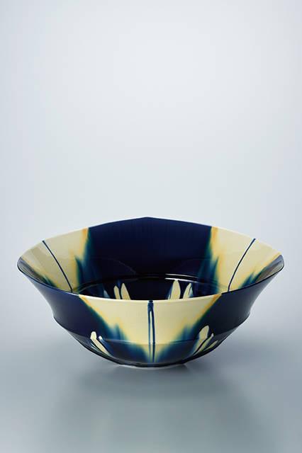 日本工芸会奨励賞</br><陶芸> 藍三彩「1607」 加藤清和