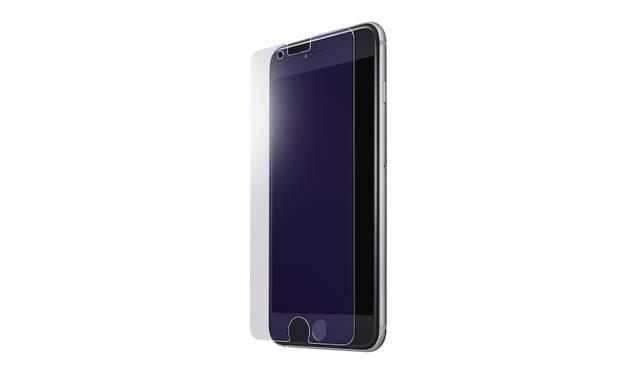ブルーライトを低減させる保護ガラス。iPhone 7、iPhone 7plus用ともに2,500円。9月下旬発売予定