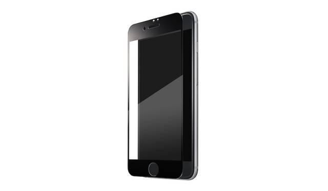 ベゼル部分までも保護するフルカバータイプ。ホワイトとブラックのカラー展開。iPhone 7、iPhone 7plus用ともに4,000円。9月下旬発売予定