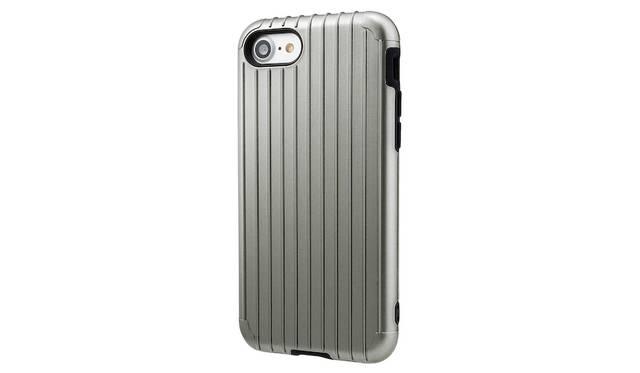 カラーはグレー。iPhone 7用は3,500円、iPhone 7 plus用は4,000円(ともに税込み)。9月下旬発売予定