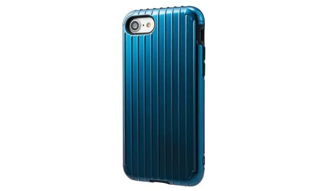カラーはネイビー。iPhone 7用は3,500円、iPhone 7 plus用は4,000円(ともに税込み)。9月下旬発売予定