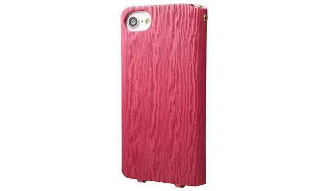 カラーはピンク。iPhone 7用は4,500円、iPhone 7 plus用は5,500円(ともに税込み)。9月下旬発売予定