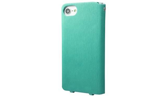 カラーはターコイズ。iPhone 7用は4,500円、iPhone 7 plus用は5,500円(ともに税込み)。9月下旬発売予定