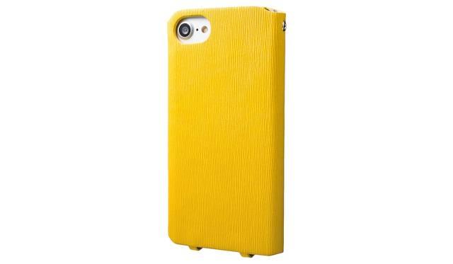 カラーはイエロー。iPhone 7用は4,500円、iPhone 7 plus用は5,500円(ともに税込み)。9月下旬発売予定