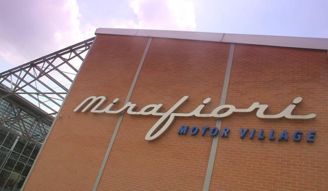 ミラフィオーリ・モーターヴィレッジは、元・シート工場を改装したFCAグループの旗艦ショールームである