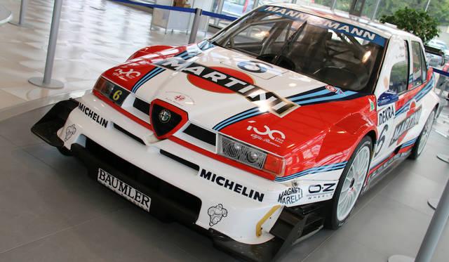 F1から転向したアレッサンドロ・ナンニーニが1996年ITCで駆ったアルファ・ロメオ155V6Ti