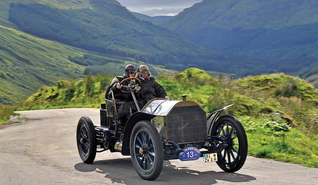 最終選考車の「1903 メルセデス 60HP シンプレックス」</br>(c)Tim Scott