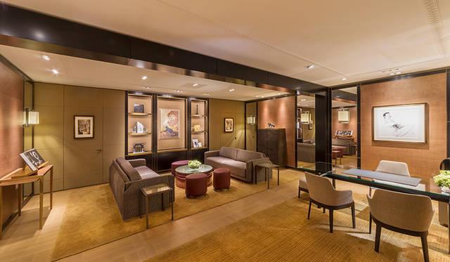 2階の「ルイ・カルティエ」サロンはまさしくフランス上流階級の個人邸宅におとずれたよう<br> Jimmy Cohrssen ©Cartier
