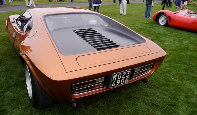 アメリカンモーターズAMX/3(68年)はみずからレーシングドライバーでありテストドライバーとしても優秀でさらにフェラーリ250GTOなど手がけるほどエンジニアとしても才能に恵まれていたジョット・ビザリーニが米国のアメリカンモーターズのために設計したが6台しか作られなかった