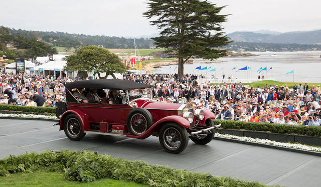 Class H-1(Rolls-Royce Silver Ghost)部門1位はRolls-Royce Silver Ghost Brunn & Company Phaeton(21年) Copyright © Kimball Studios / Courtesy of Pebble Beach Concours d'Elegance