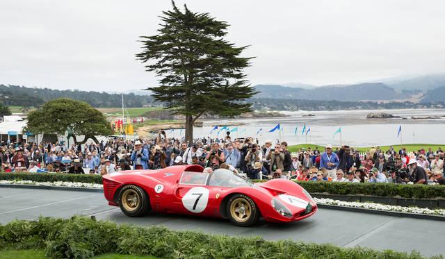 Class M-2(Ferrari Competition)部門1位はFerrari 330 P4 Drogo Spyder(66年) Copyright © Kimball Studios / Courtesy of Pebble Beach Concours d'Elegance