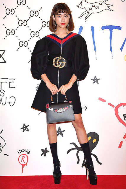 森星さん<br>Courtesy of Getty Images for Gucci