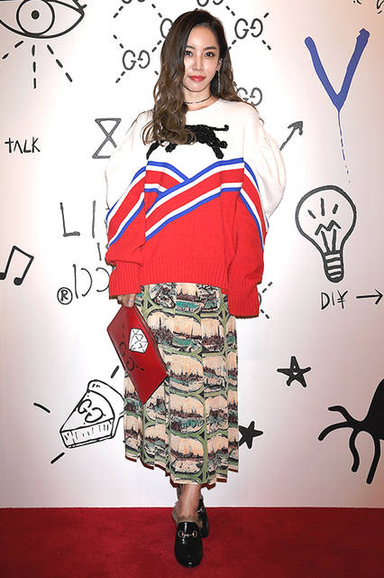 MegBabyさん<br>Courtesy of Getty Images for Gucci
