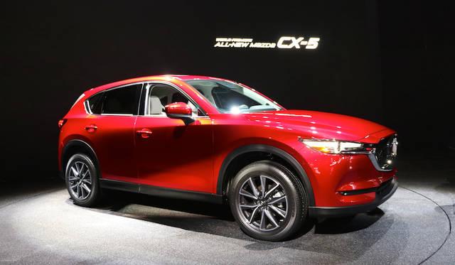 日本でもまもなく発売される新型マツダ「CX-5」はSKYACTIV-D 2.2 クリーンディーゼルを米国市場むけモデルにも搭載という