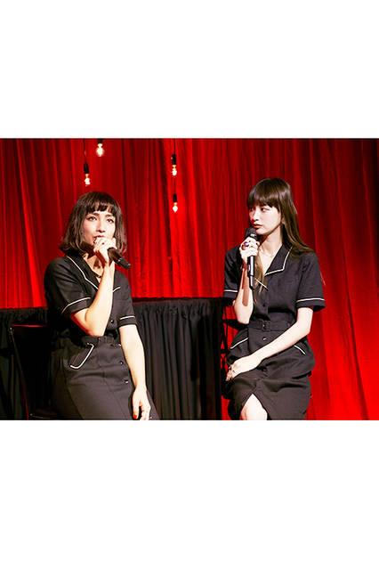 鈴木えみさんと佐田真由美さんによるトークショー