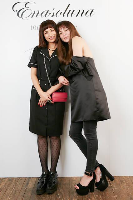 佐田真由美さん&岩堀せりさん