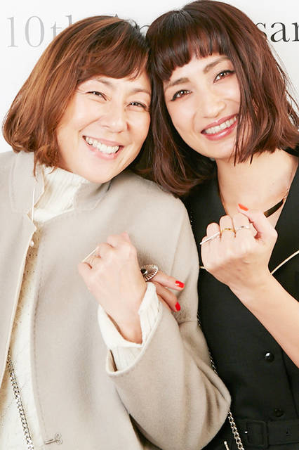 RICAKOさん&佐田真由美さん
