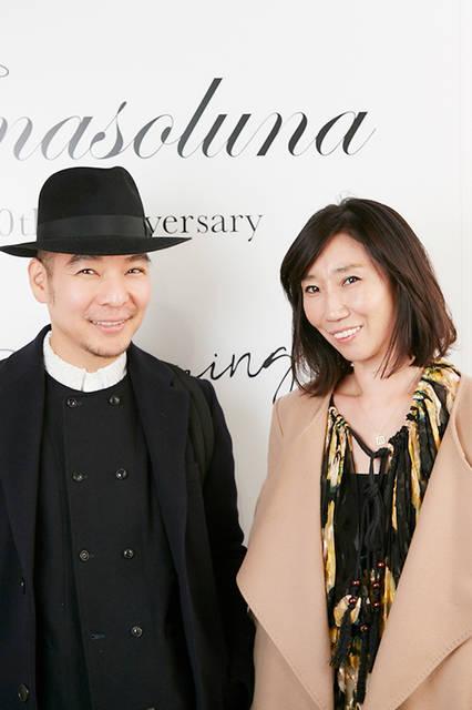 ヘアメイクアップアーティストの濱田マサルさん&スタイリストの佐々木敬子さん