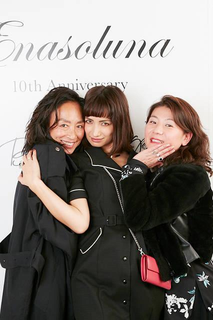 スタイリストの亘つぐみさん&佐田真由美さん&千絵さん
