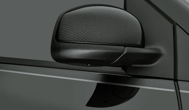 BRABUSカーボン調ドアミラーカバー