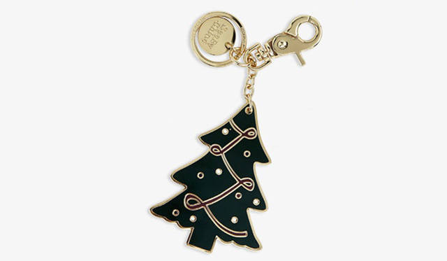 <strong>Christmas Collection 2016</strong><br />  「CHRISTMAS TREE」 (クリスマス ツリー) Key Ring 6000円<br /> ※Key Ring のみ、POP-UP boutique 限定展開